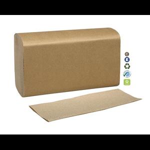 """Towel Multifold 9.5x8.1"""" 250x16 Kraft"""