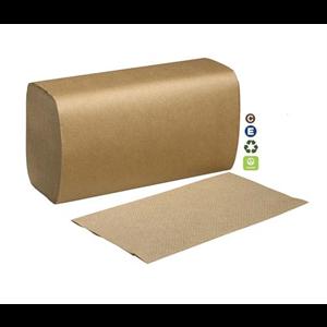 "Towel SingleFold 10.25x9.125"" Kraft"