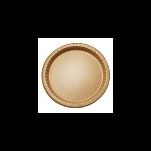 Plate Paper 10.25\u0026quot; Kraft Natural  sc 1 st  Calibre Sales & Paper Plates | Calibre Sales