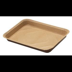 Tray 1/4 Sheet Kraft