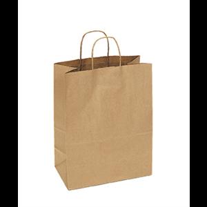 "Bag Paper Kraft w/Handle 13x7x17"""