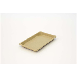 """Tray Sushi Large 8.3x5.3x0.9"""" Compostable"""