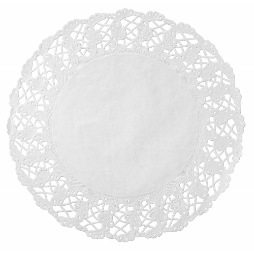 Doilies Round Lace 14 Quot White Calibre Sales